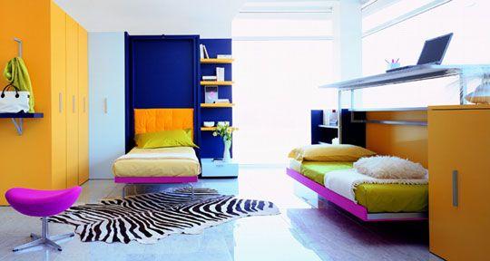 minimalismo colorido