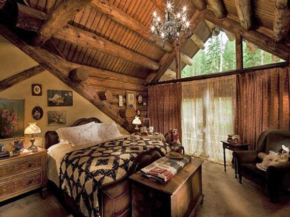 habitación tipo cabaña